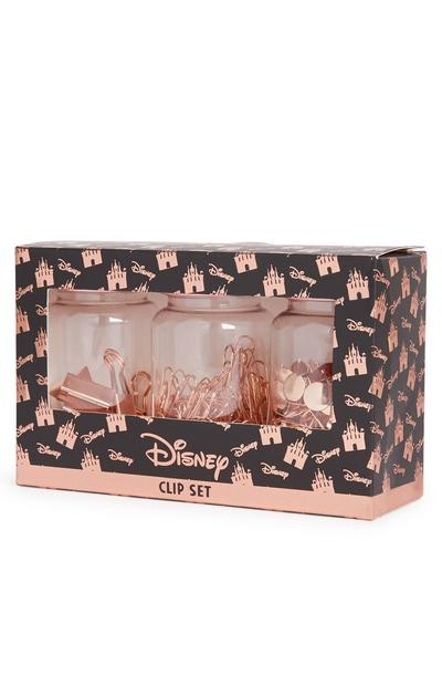 Minnie Mouse Rose Gold Pin Set