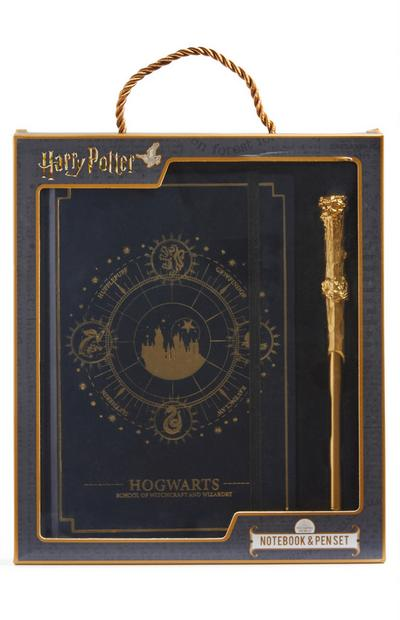 Notitieboek en pen Harry Potter
