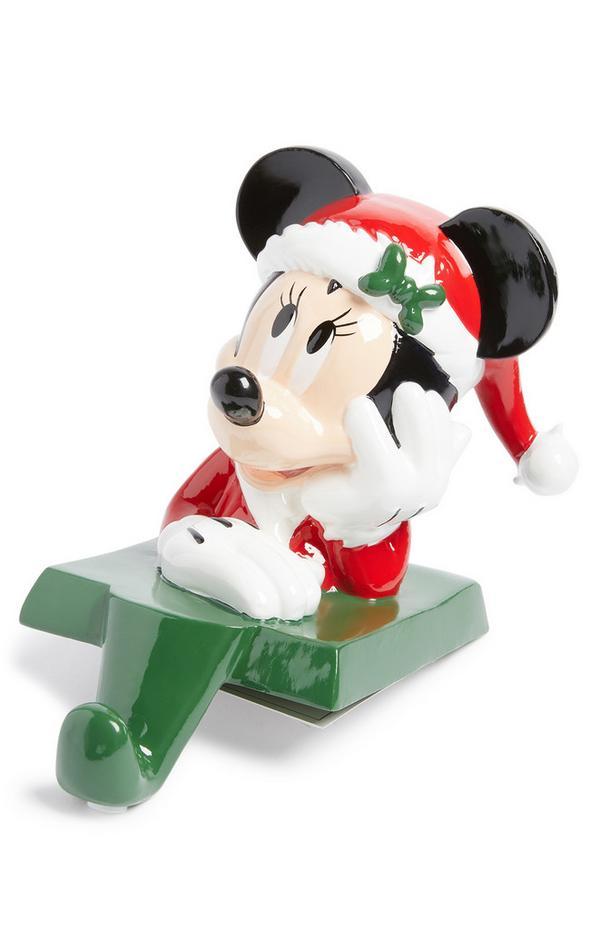Colgador para calcetín navideño de Minnie Mouse