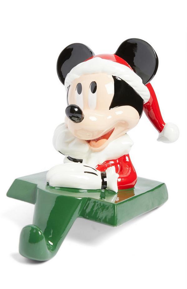 Colgador para calcetín navideño de Mickey Mouse