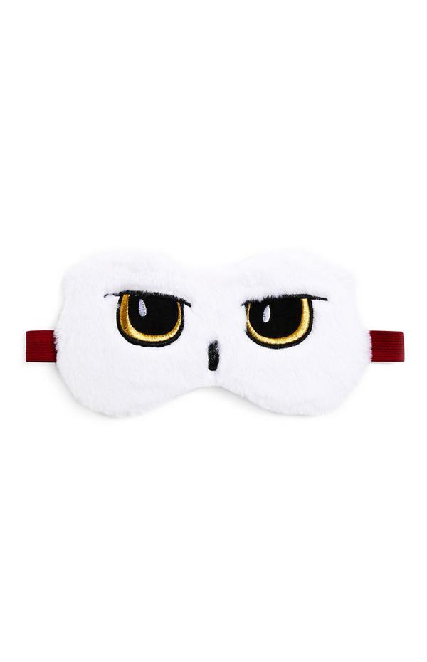 """Weiße """"Harry Potter Hedwig"""" Gel-Augenmaske"""