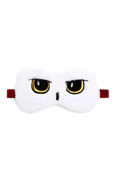 Wit oogmasker Harry Potter Hedwig