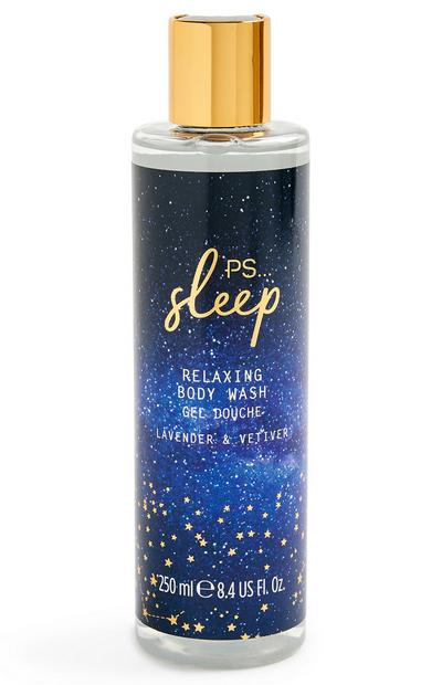 Gel de ducha relajante «Sleep» de lavanda y vetiver de 250 ml