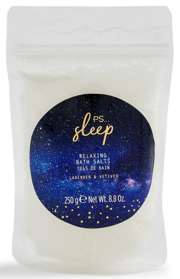 """""""Sleep"""" Entspannendes Badesalz mit Lavendel und Vetiver, 250 g"""