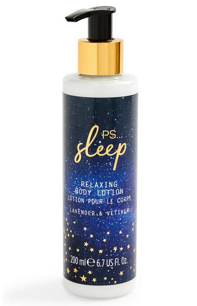 Sleep Relaxing Lavender And Vetiver Body Lotion