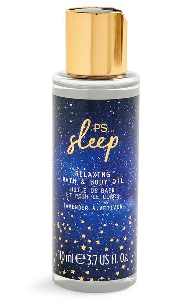 Sleep Relaxing Lavender And Vetiver Bath And Body Oil 110ml
