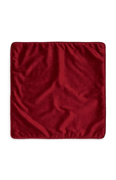 Red Velvet Cushion Cover