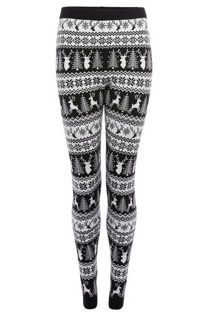 Womens Christmas Legging Co-ord
