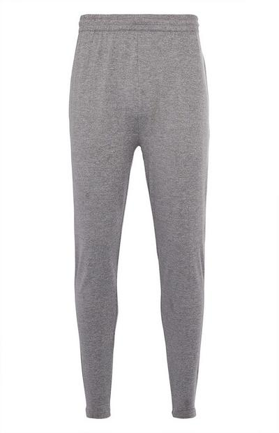 Grijze superstretch joggingbroek