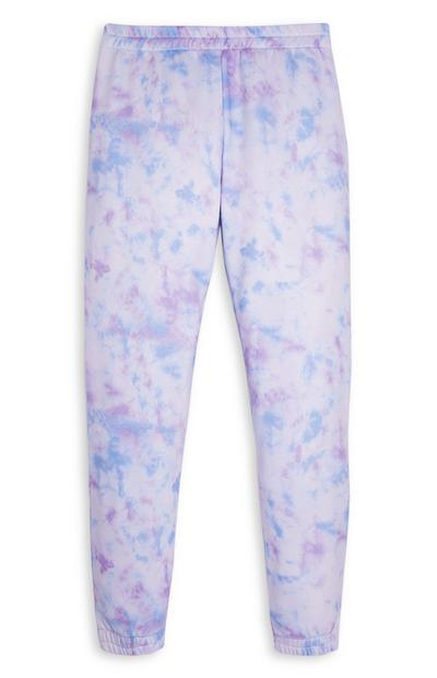 Jogging tie and dye dégradé fille