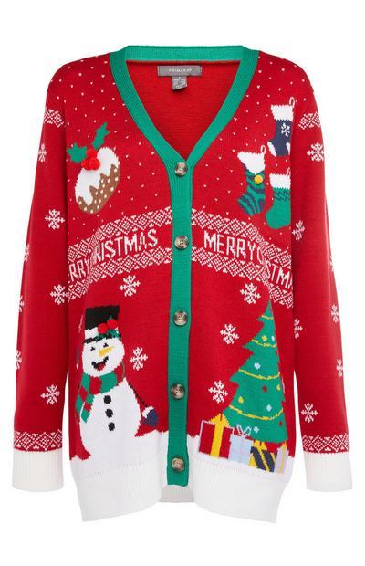 Novelty Christmas Cardigan