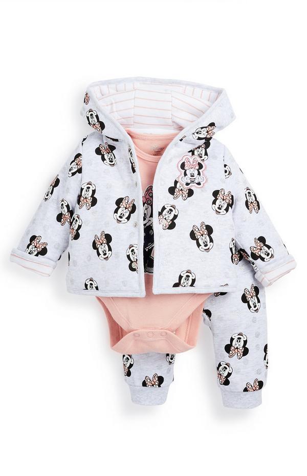 """3-teiliger """"Minnie Maus"""" Trainingsanzug für Babys (M)"""