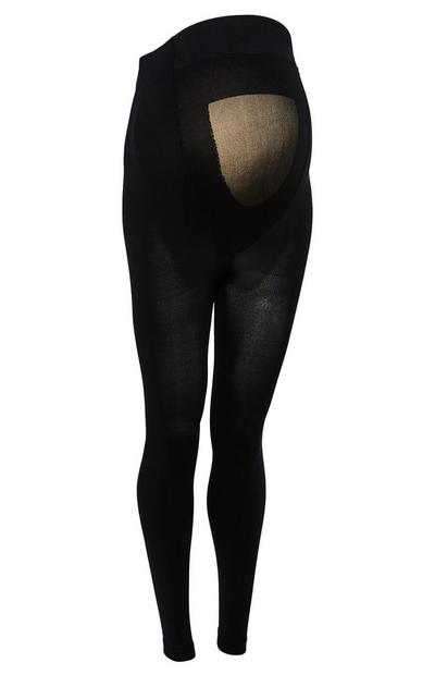 Leggings maternidade 200 Denier preto