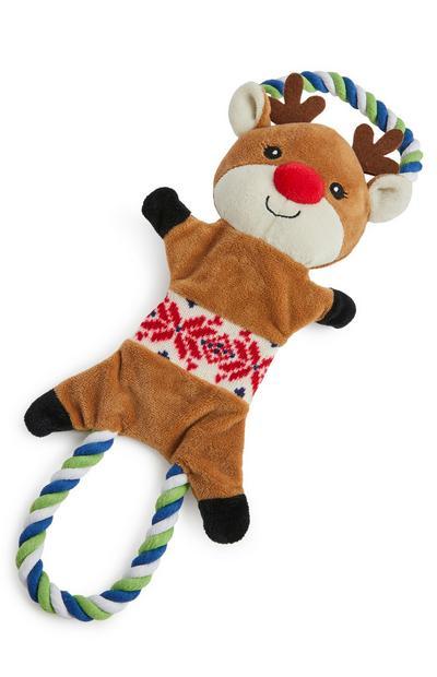 Reindeer Pully Pet Toy