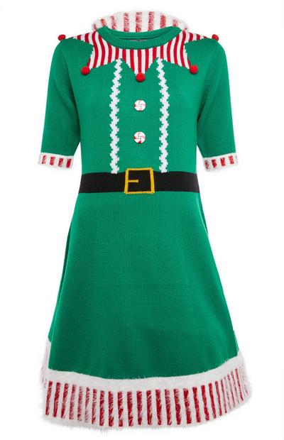 Elf Christmas Dress