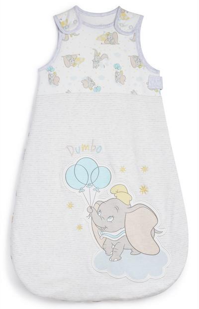 Saco de dormir gris y blanco de Dumbo para Bebé