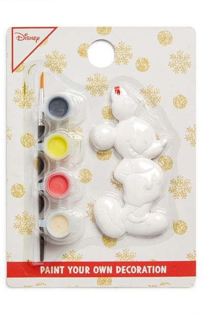 Paint Your Own Mickey Mouse Xmas Ornament
