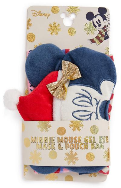Minnie Mouse Eyemask And Pouch