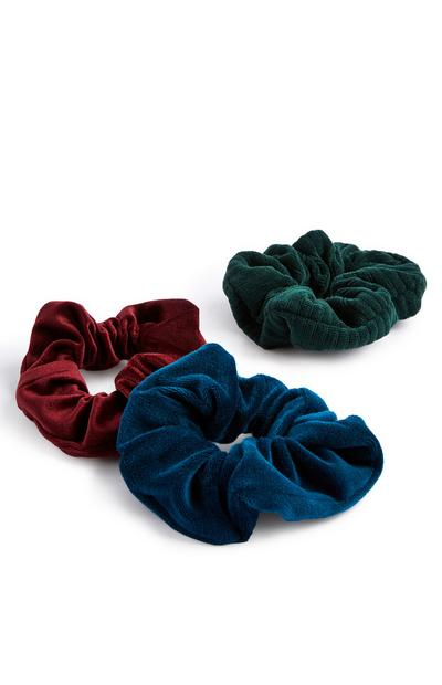 Supersoft Scrunchies 3 Pack
