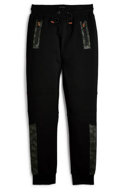 Older Boy Woven Panel Joggers