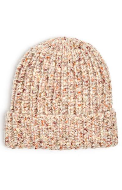 Oatmeal Speckled Beanie