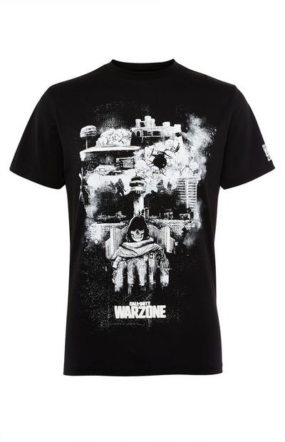 Black Call Of Duty Skull Tee