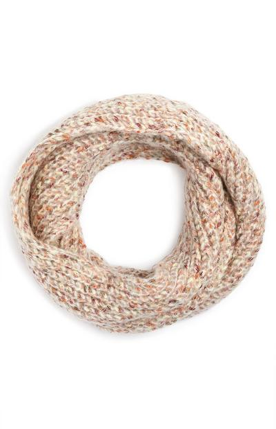 Oatmeal Speckled Snood