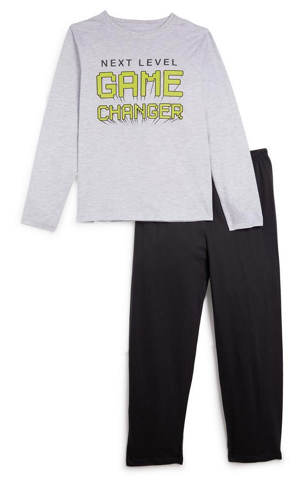 Grau-schwarzer Pyjama (Teeny Boys)