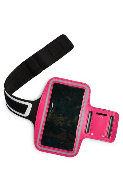 Pink Workout Running Arm Band Plus