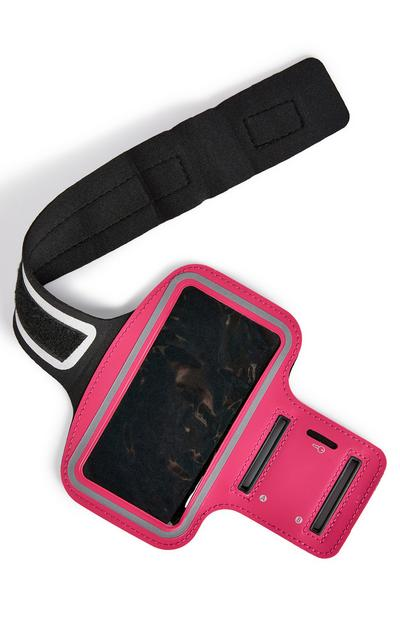 Pink Workout Running Arm Band