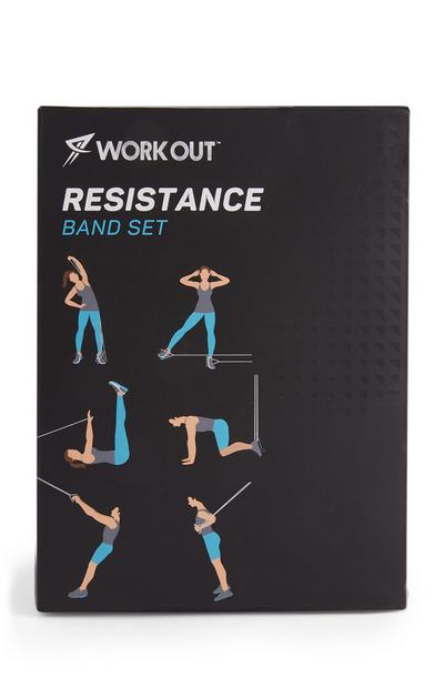 Workout Resistance Band Set 11 Piece