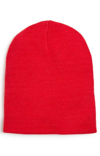 Red Supersoft Beanie