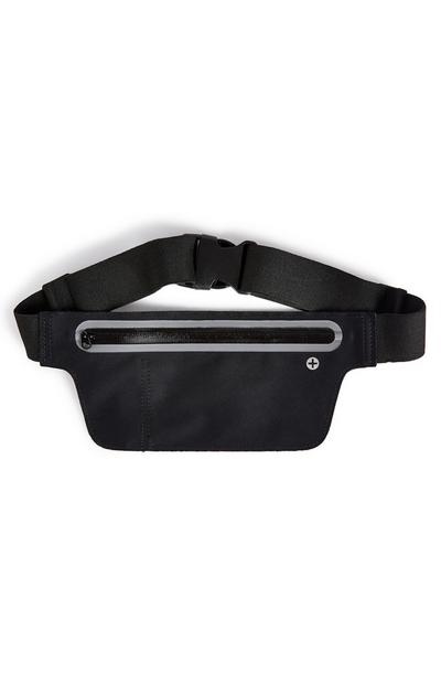 Workout Large Black Fanny Pack