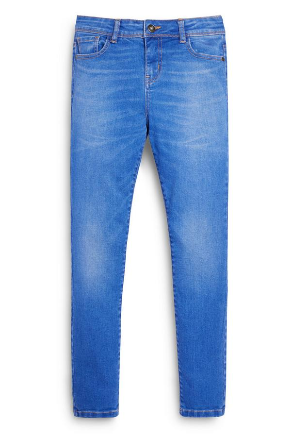 Jeans skinny in denim da ragazzo