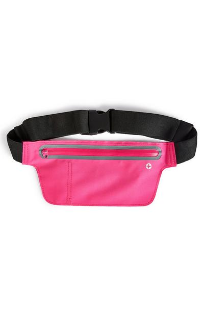 Pack cinto grande Workout cor-de-rosa