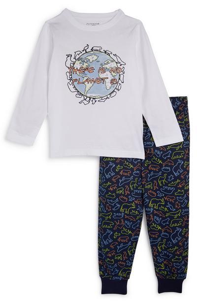 Pyjama Earth voor jongens