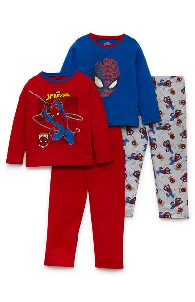 Lot de 2 pyjamas Spiderman Disney garçon