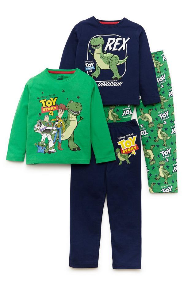 Disney Younger Boy Toy Story Pyjamas 2 Pack