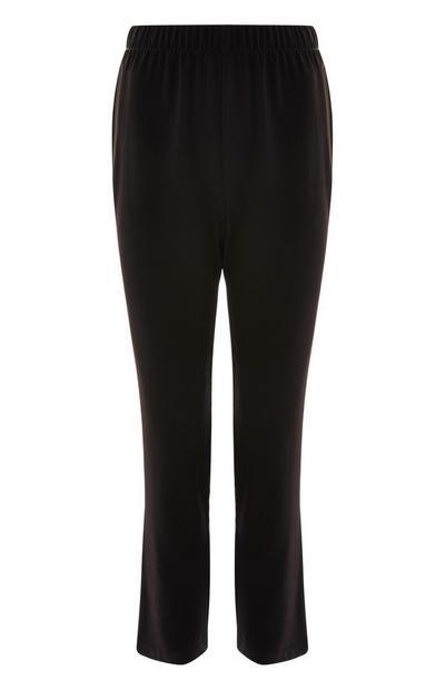 Pantalón de chándal de sarga negro