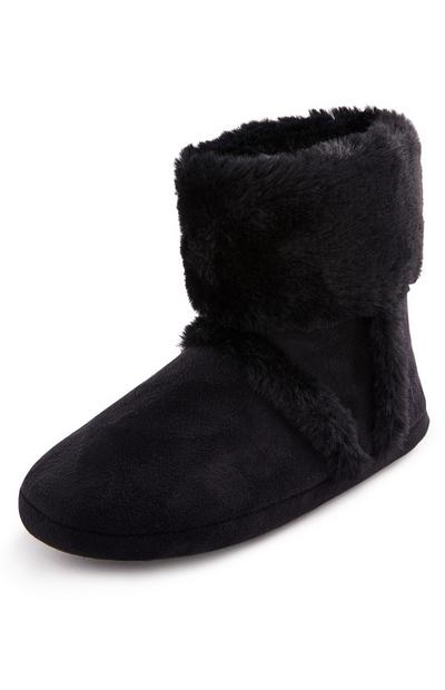 Black Snug Bootie