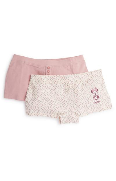 Shorties roses Primark Cares Disney fille
