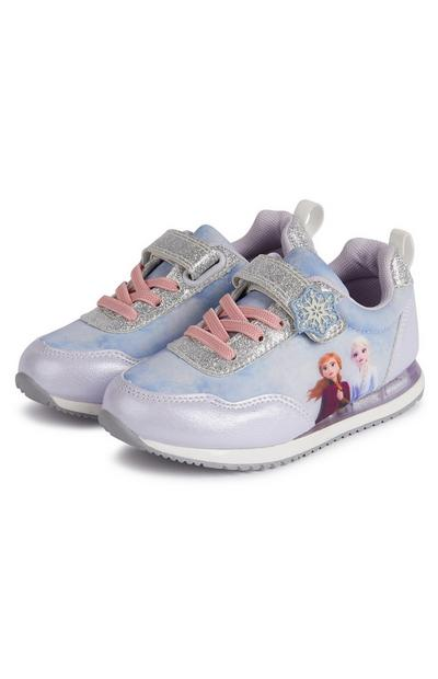 Younger Girl Disney Frozen Retro Light-Up Trainers