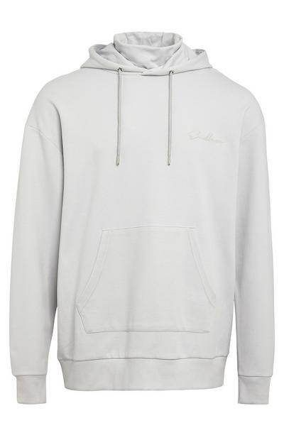 Grey Endless Snood Hoodie