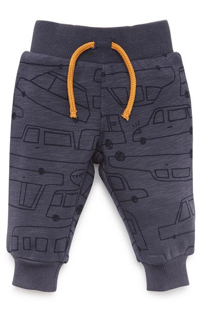 Baby Boy Navy Transport Joggers