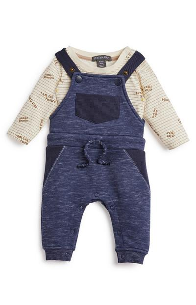 Baby Boy Leisure Dungarees Suit