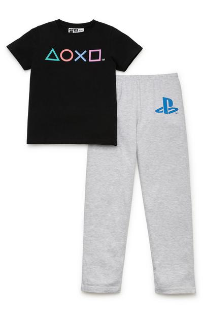 Pyjama's PlayStation voor jongens, set van 2
