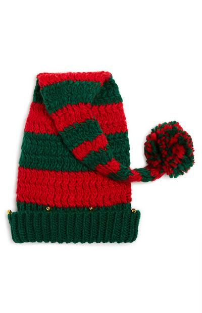 Green And Red Xmas Novelty Hat