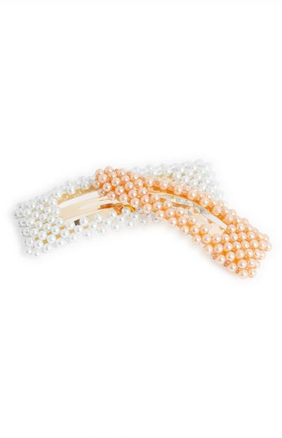 2-Pack Large Pearl Snap Clips