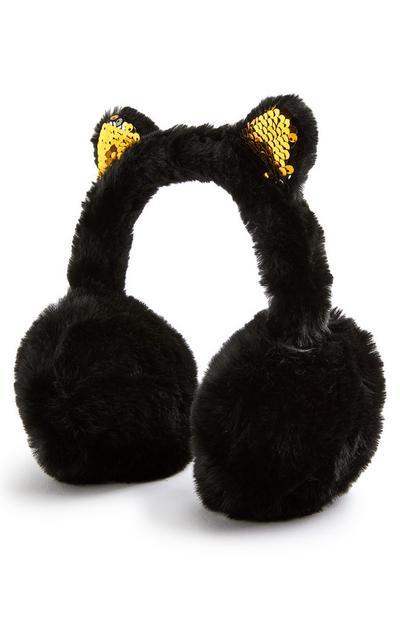 Cache-oreilles fantaisie à oreilles de chat