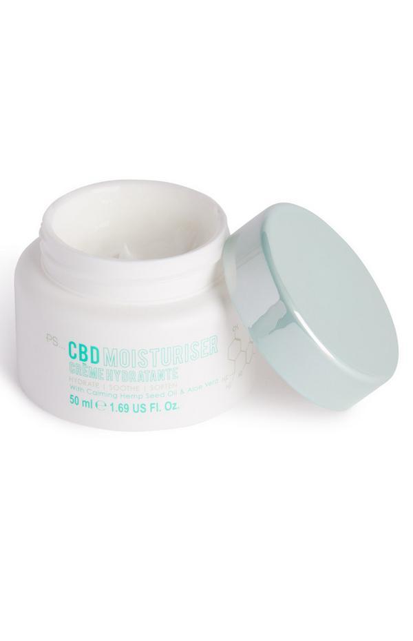 Crème hydratante contenant du CBD